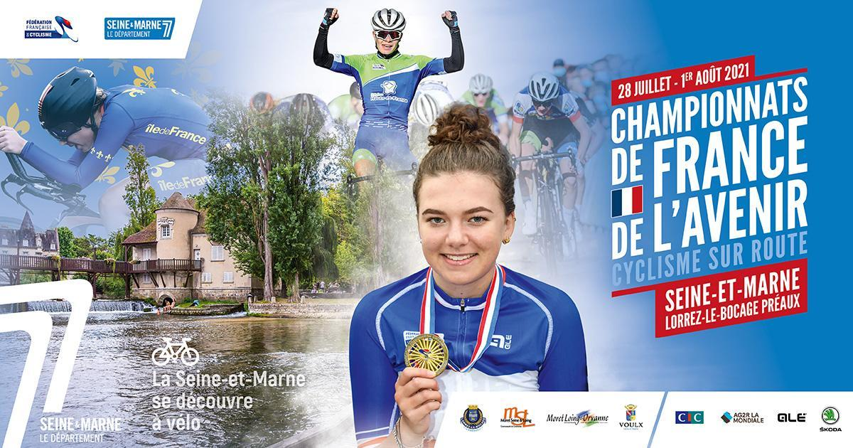 Championnats de France de l'Avenir en Seine-et-Marne