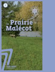 Couverture publication de l'ENS Prairie Malécot