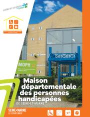Couverture de la publication sur la MDPH de Seine-et-Marne