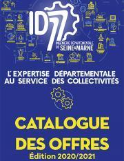 Couverture catalogue offres ID77