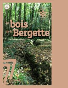 Couverture publication de l'ENS du bois de la Bergette (2020)