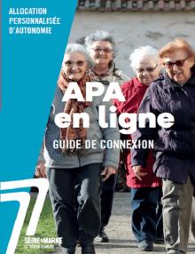 Couverture guide de connexion APA en ligne
