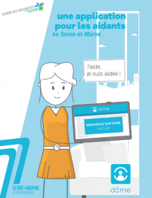couverture publications sur l'application Dôme
