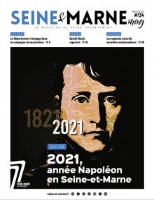 Couverture du Seine & Marne mag n°134
