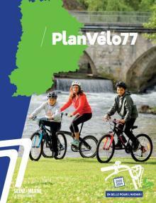 Trois cyclistes en Seine-et-Marne