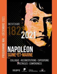 Couverture du programme du bicentenaire de la mort de Napoléon