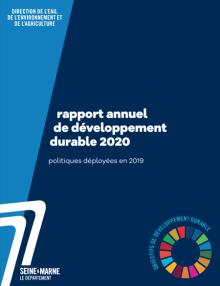 Couverture du rapport annuel de développement durable