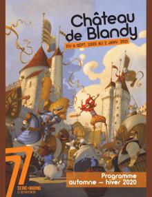 couverture du programme de Blandy-les-Tours automne-hiver 2020