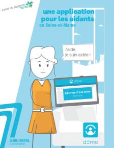 couverture publications sur l'application Dôme