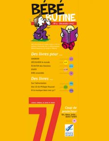 Couverture Bébébutine n°11 (2007)