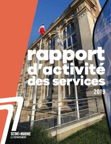 couverture rapport d'activité des services 2019