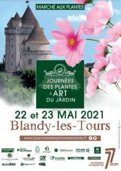 affiche évènement journée des plantes et art du jardin