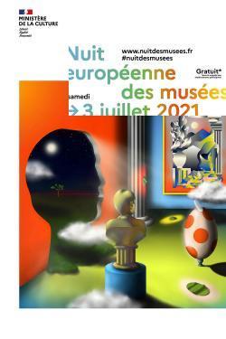 Affiche de la Nuit européenne des musée 2021