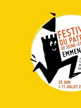 """Visuel du festival du Patrimoine """"Emmenez-moi"""""""