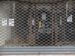 Commerce dans le centre-ville de Melun fermé pendant le confinement