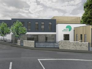 perspective du projet de construction d'une maison médicale à la Ferté-sous-Jouarre 2020