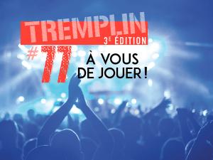 affiche soirée de clôture Tremplin#77 2020