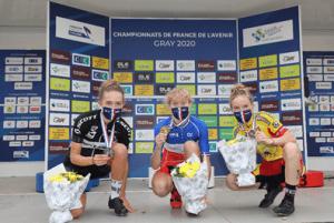 Trois jeunes sportifs vainqueurs des championnats de france de l'Avenir 2020