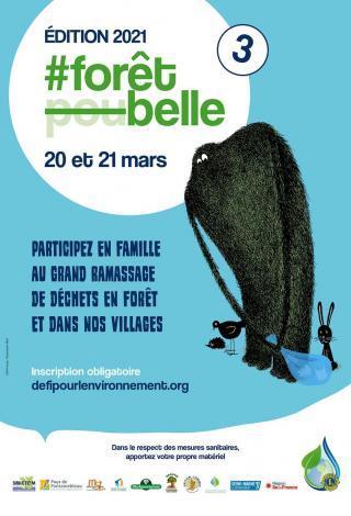 Affiche de l'évènement #ForêtBelle 2021