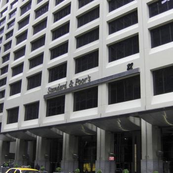 Siège de l'agence de notation financière Standard & Poor's à New York
