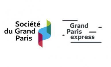 Logos de la société du Grand Paris et de Grand Paris express