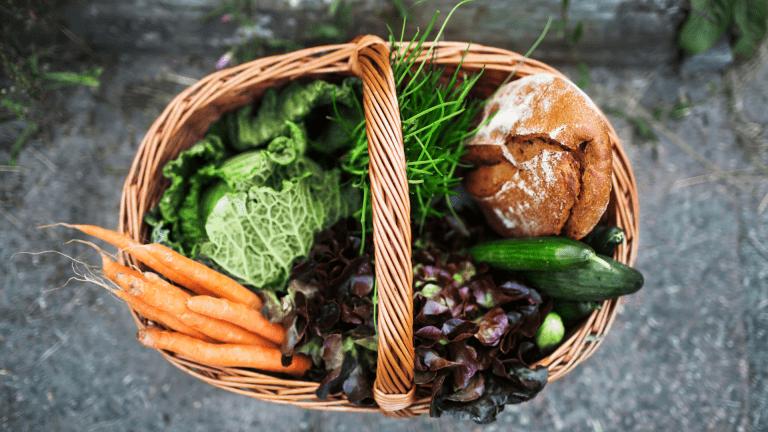 Pannier de légumes